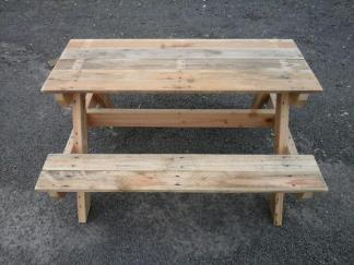 picnic table pallet